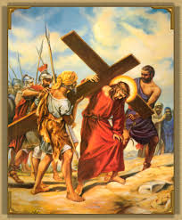 Image result for picture of Jesus carrying cross