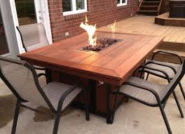 appealing ideas for fire pit dining table design 17 best ideas about fire table on