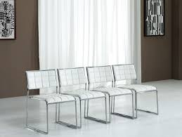leather dining chairs modern. White Chrome Dining Chair Room Ideas Leather Chairs Modern R