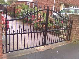 wrought iron fence gate. Interesting Gate Wrought Iron Fence Gate Iron Fence And Its Great Benefits Garden  Ideas Array For R