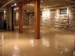 Small Picture Paint Concrete Basement Floor Ideas plus ceilingbeige instead