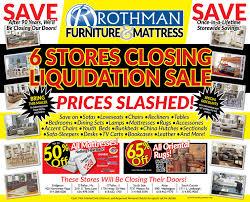 Rothman Furniture Blog Print Ads