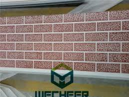 A textura para parede externa pode evitar que infiltrações ocorram no ambiente interno. China Textura De Tijolo Vermelho Do Painel Da Parede Externa Para Decoracao Compre Painel Do Tipo Sanduiche De Poliuretano Em Pt Made In China Com