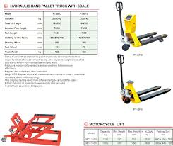 H Lift Hydraulic Pallet Truck Lift Table Manual Stacker