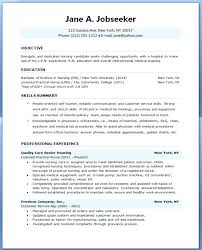 Free Resume Templates For Nurses Stunning Nursing Resume Template Free Unitedijawstates