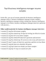 top 8 business intelligence manager resume samples 1 638 cb b1dd4fa4