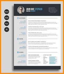 Creative Cv Templates Free Creative Resume Template Word Doc