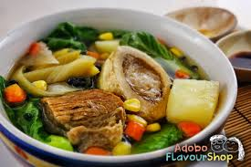 slow cooker bulalo beef bone marrow soup