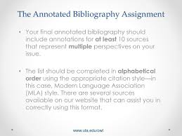 Annotated Bibliography Alphabetical Order By What Pay Someone To