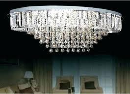 flush mount crystal chandeliers crystal chrome glass lighting fixture flush mount ceiling
