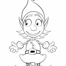 Small Picture Christmas Elf Coloring Pages Coloring Coloring Pages
