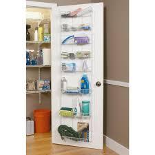 Kitchen Pantry Door Organizer Closetmaid 72 In X 18 In 8 Tier Ventilated Storage Rack 8044
