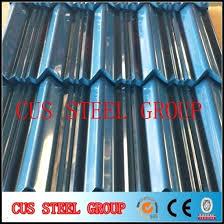 corrugated galvanized