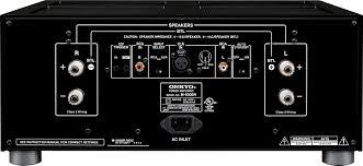 onkyo 9050. amazon.com: onkyo m-5000r reference series power amplifier (black): electronics 9050