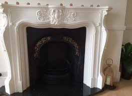 plaster fire surroundarble backs and hearths from