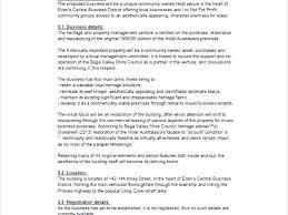 Hotel Business Plan Template Pdf Opusv Co