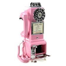 crosley wall phone pink wall pay phone d crosley wall phone parts