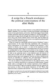 a script for a french revolution the political consciousness  a script for a french revolution the political consciousness of the abbe mably