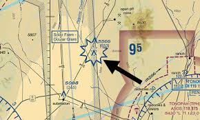 7 Rare Symbols Found On Vfr Sectional Charts Boldmethod