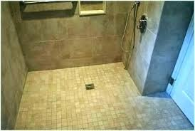 shower pans for tile ready linear drains premade prefab pan shower pan tile ready
