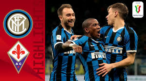 Inter 2-1 Fiorentina | Eriksen Makes Inter Debut in Inter Win! |  Quarter-final