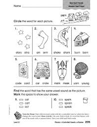Phonics: r-Controlled Vowels Review Worksheet for 1st - 2nd Grade ...