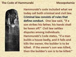 using hammurabi s code to engage middle school writers