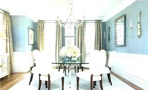 chandelier height above dining table co room off from floor in bed