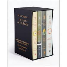 the lord of the rings boxed set 4 x hardcover books including the fourth book a reader s companion by j r r tolkien 9780007581146 booktopia
