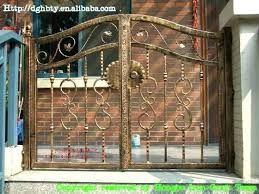 wrought iron garden gate for wrought iron gate and iron iron garden gates used