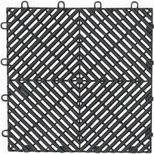 garage floor tiles lowes. gladiator 4-piece 12-in x charcoal garage floor drain tile tiles lowes