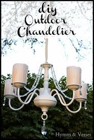 Diy Chandelier Best 20 Outdoor Chandelier Ideas On Pinterest Solar Chandelier