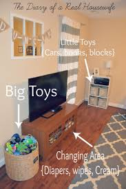 Toy Organization For Living Room How I Organize The Toys In My Living Room Easy Way To Keep It All
