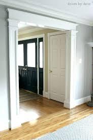 white interior door styles. Beautiful White Craftsman Door Trim Casing Styles Interior Ideas Admirable   Intended White Interior Door Styles