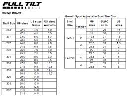 Black Diamond Ski Boots Size Chart Dalbello Sizing Chart Www Bedowntowndaytona Com