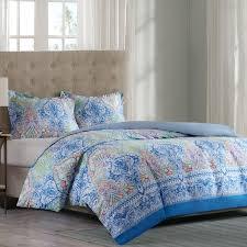 paisley cotton duvet cover set