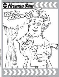 Small Picture Coloring sheet Fireman Sam Sarah Westbrook Nephews