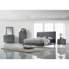 Grey And Yellow Bedding Silver Bedroom Furniture Ikea Acme Valda Platform  Customizable Set Reviews Gray Storage Walmart Dresser Hemnes Sets Walls  Malm ...