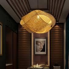 worked hanging pendant light rattan