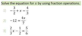 solving basic linear rational equation examples