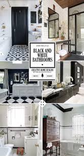 Black And White Bathroom Decor The Classic Look Black And White Bathroom Decor Ideas Home Tree