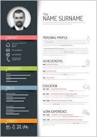 Free Creative Resume Templates Word Download Resume Resume