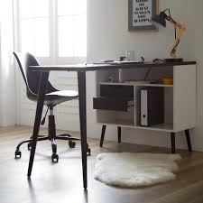 ⭐️ eckschreibtisch schreibtisch arbeitstisch bürotisch computertisch tisch thales weiß mit absatz s. Eckschreibtisch Oslo Schwarz Weiss Danisches Bettenlager