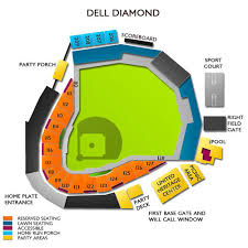 Dell Seating Chart Dell Diamond Tickets