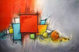 Hot Item] Modern Abstract Art Painting ...