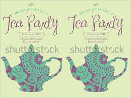 tea party templates 41 tea party invitation templates psd ai free premium templates