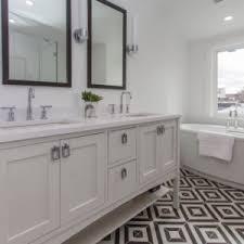 k 14483 purist single wall sconce kohler kohler black and white master bath hestiaphilly hestiaconstruction phillystreetflippin rachelstreet