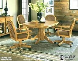 dining room chairs on wheels decoration oak swivel dining chairs caster best ideas on chair modern