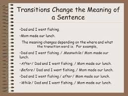 tips for writing the transitional sentences for essays like a road map transitions guide readers through your essay a transitional paragraph is a paragraph in an essay speech composition or report that