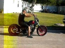 houston retro bobbers ruby red vlx 600 bobber ride away youtube